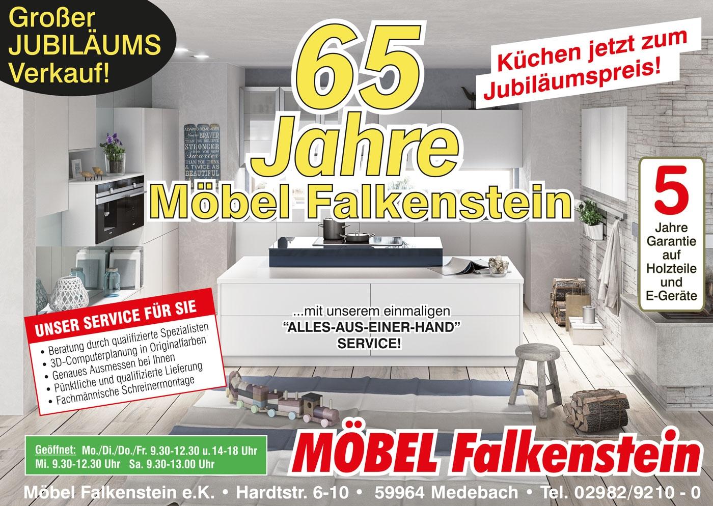 65 Jahre Möbel Falkenstein